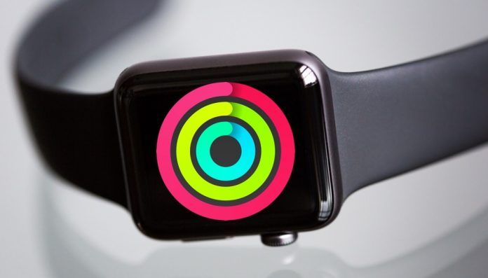 usar Actividad en Apple Watch