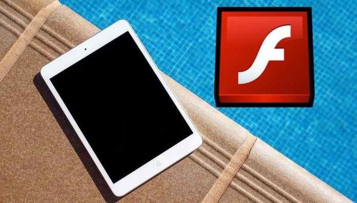 ver flash en iPad