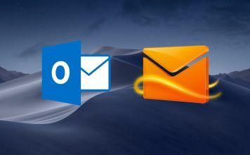 configurar hotmail mail mac