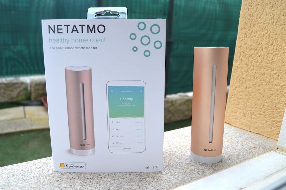 Netatmo Healthy Home Coach caja