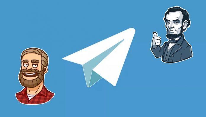 anadir stickers telegram