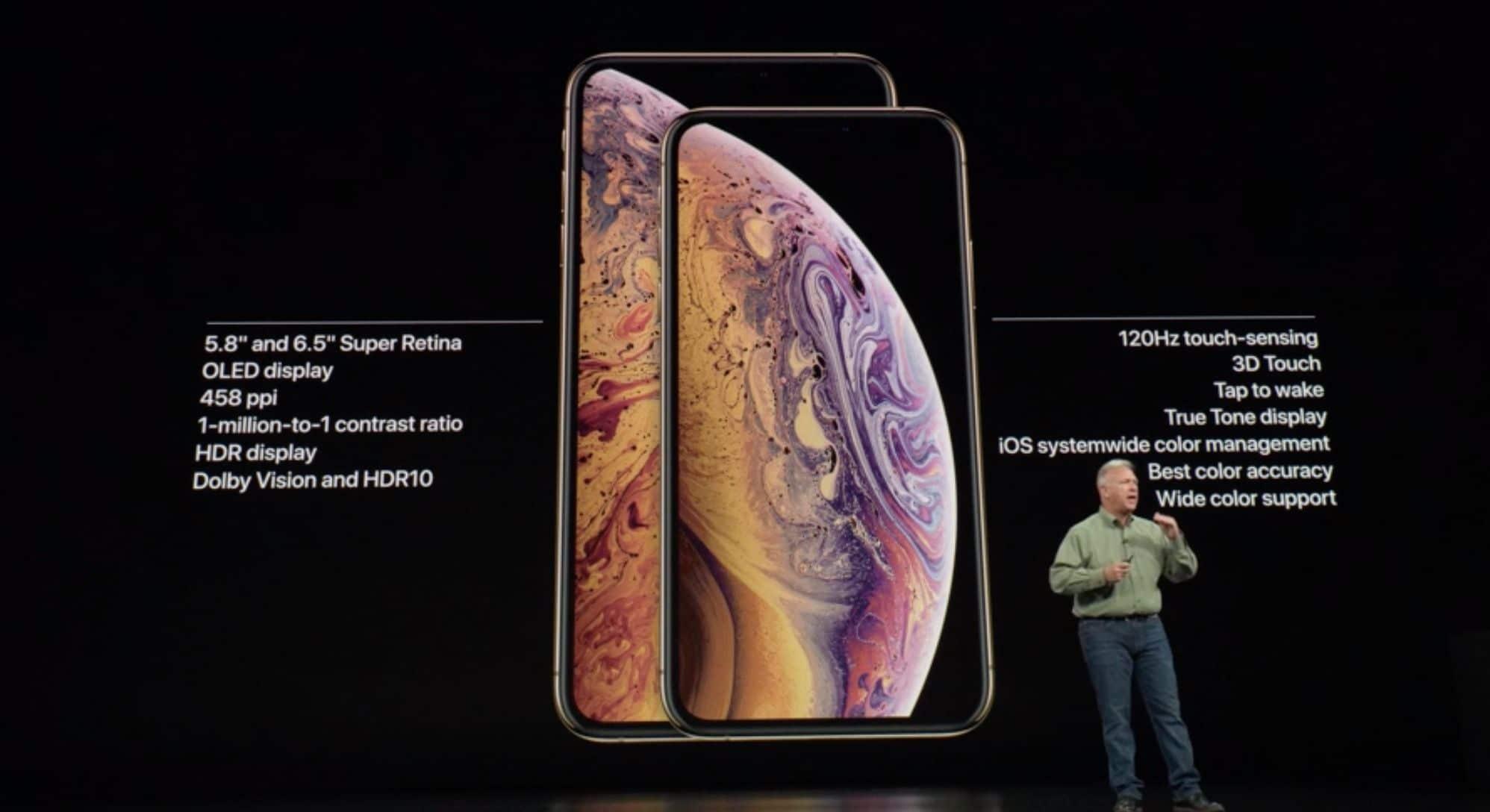 especificaciones iphone xs