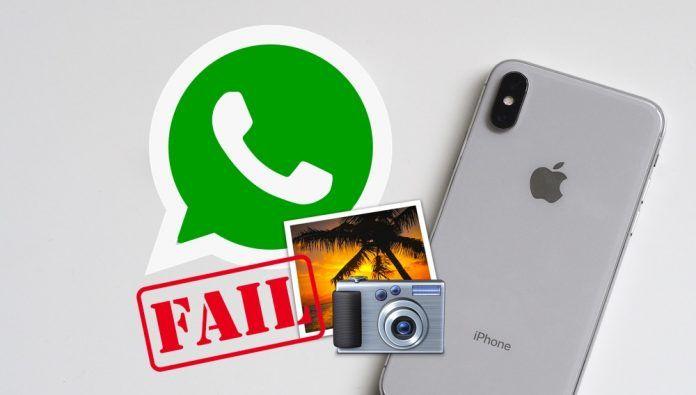 No puedo enviar fotos por WhatsApp para iPhone