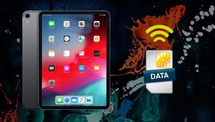 configurar tarifa datos ipad pro