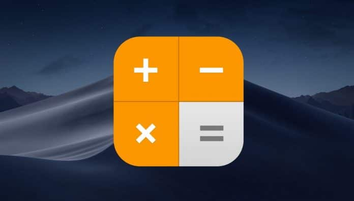 activar calculadora cientifica mac