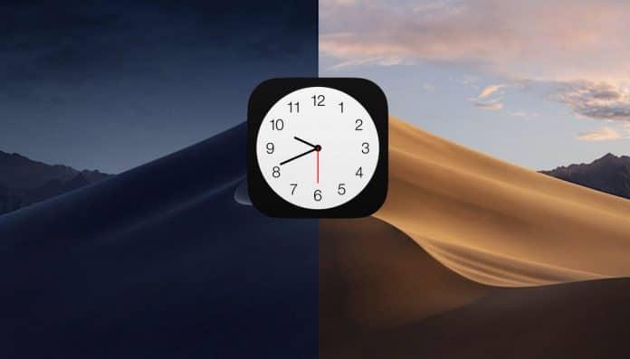 cambiar zona horaria en mac