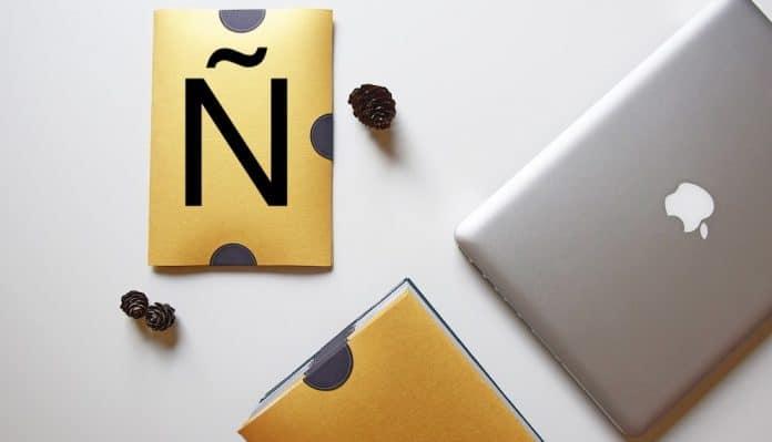escribir la letra n en Mac