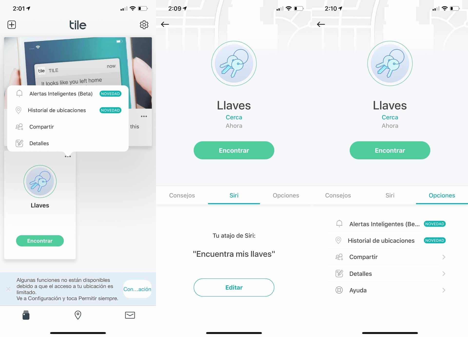app tile para iphone