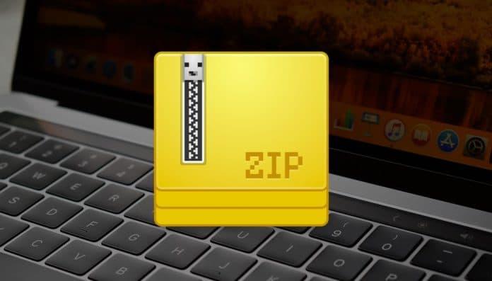 comprimir archivos en mac
