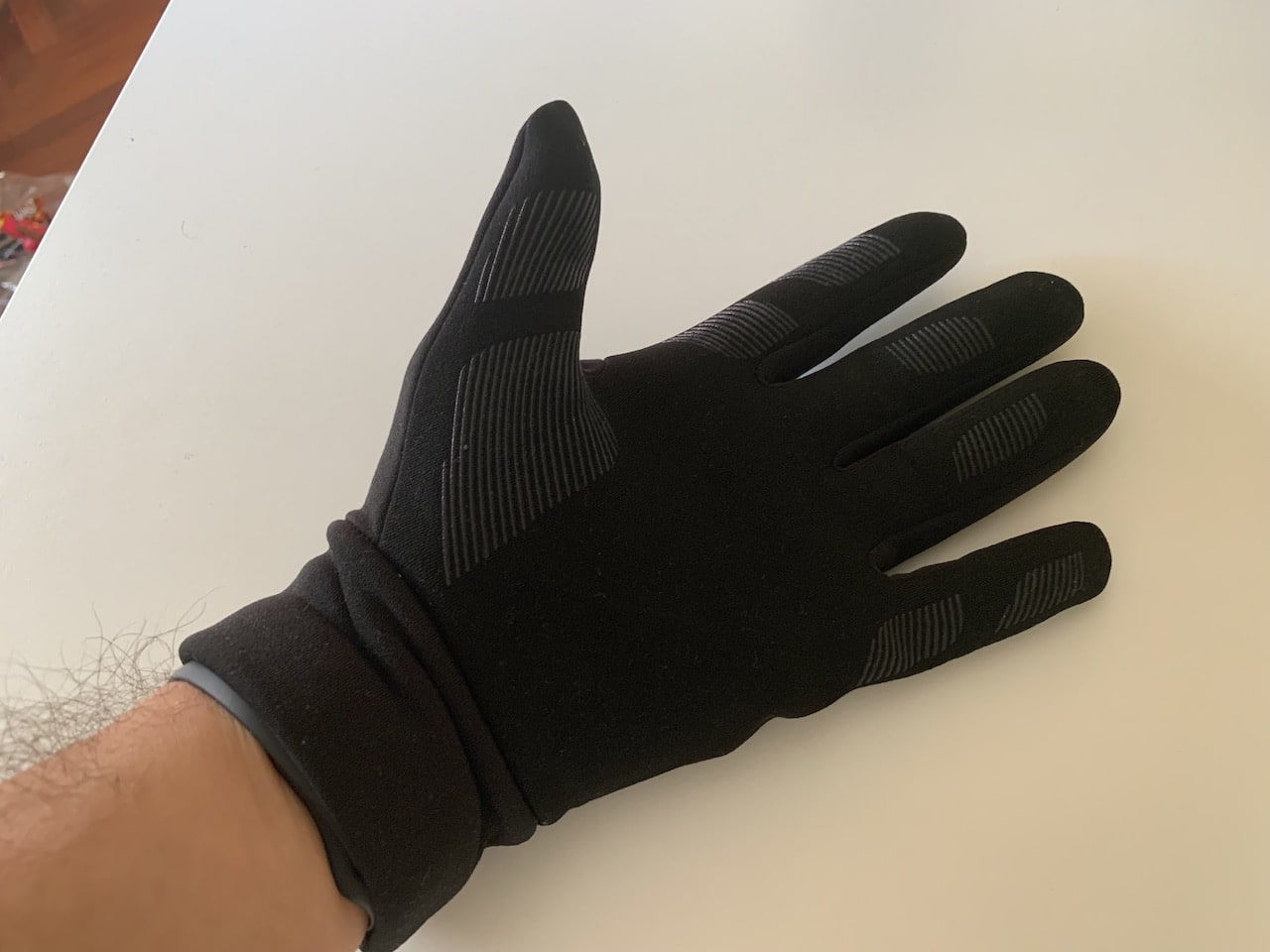 guantes all new mujjo puesto interior