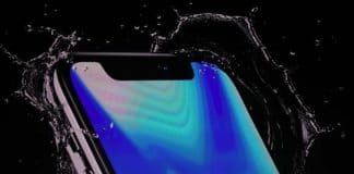 iphone x resistente al agua