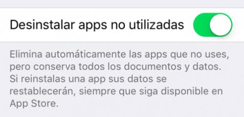 que significa simbolo icloud delante app ios