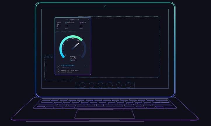 medir la velocidad de internet desde Mac