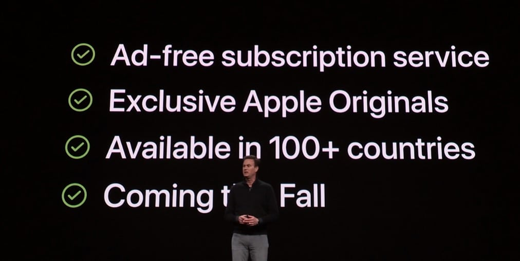 Precio de Apple TV+