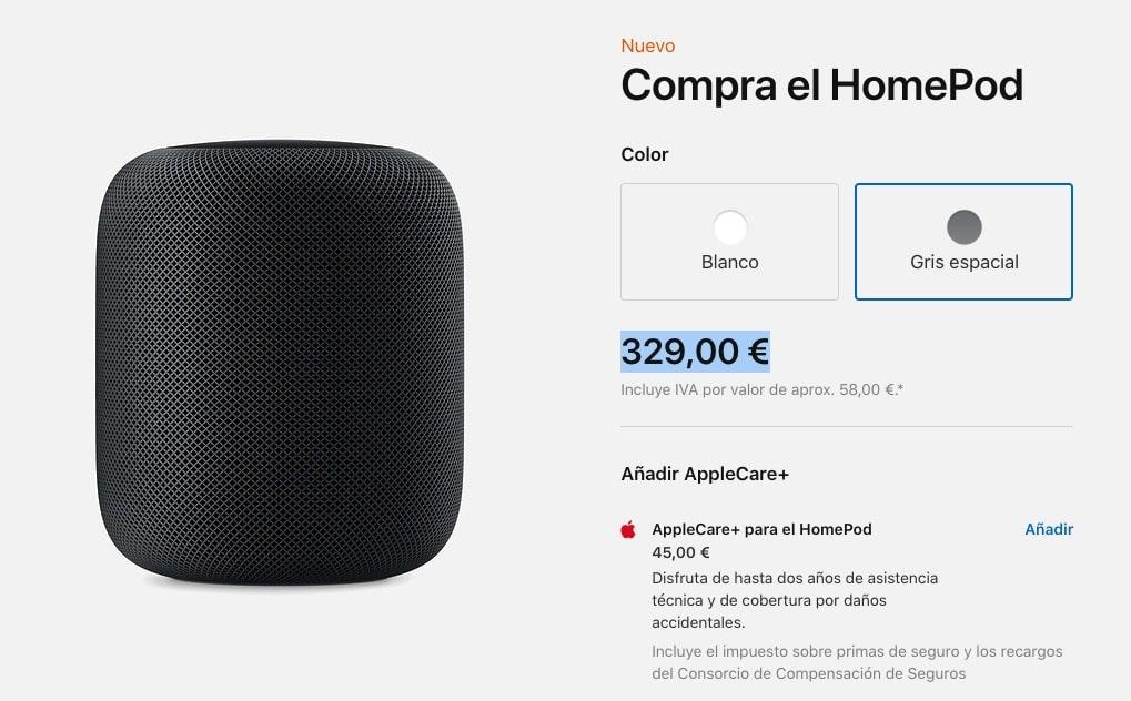 El HomePod baja de precio