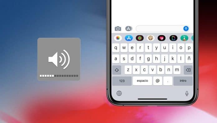activar quitar sonido teclado iphone