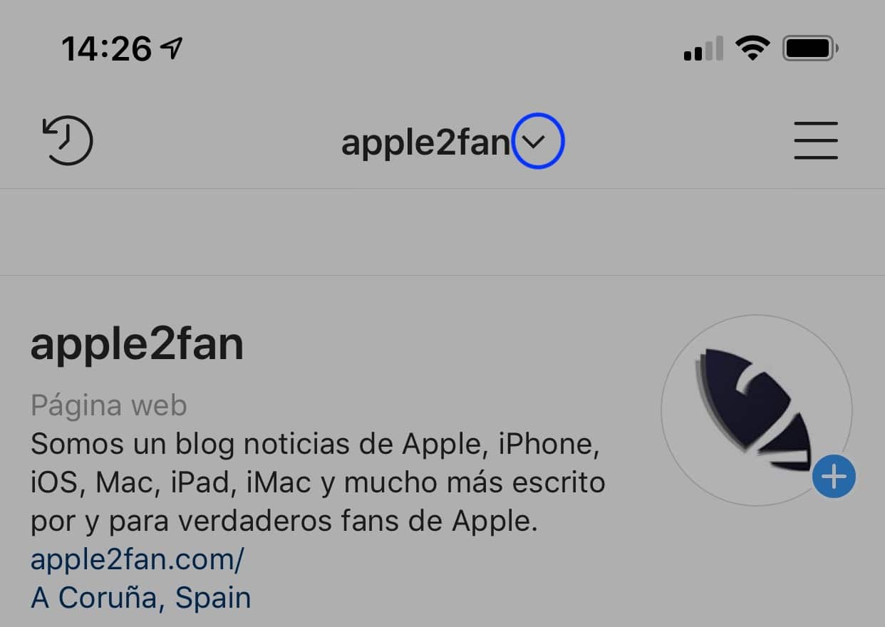 como tener varias cuentas de Instagram en iPhone
