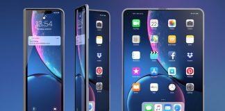 iphone plegable concepto
