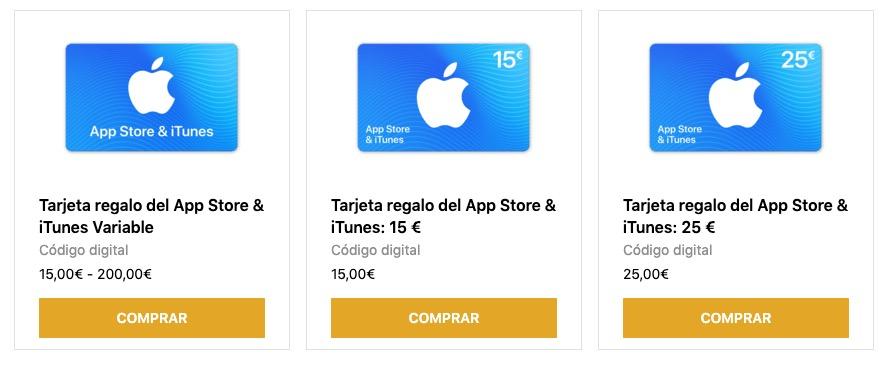 Comprar tarjetas de iTunes con PayPal startselect
