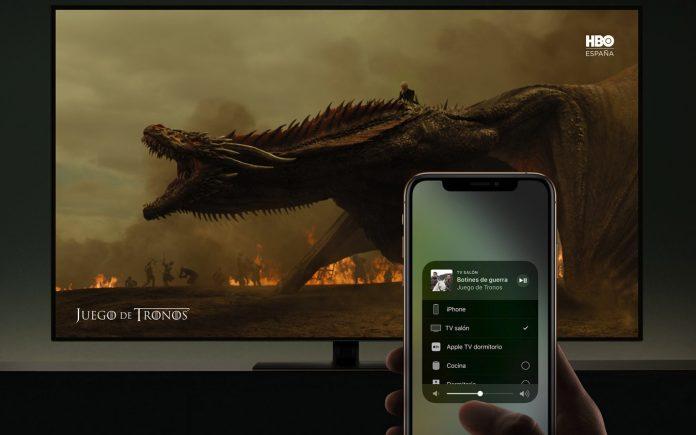 Televisiones compatibles con AirPlay 2