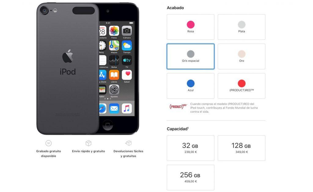 comprar ipod touch nueva version