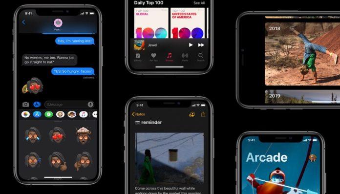 Novedades de iOS 13 Beta 4