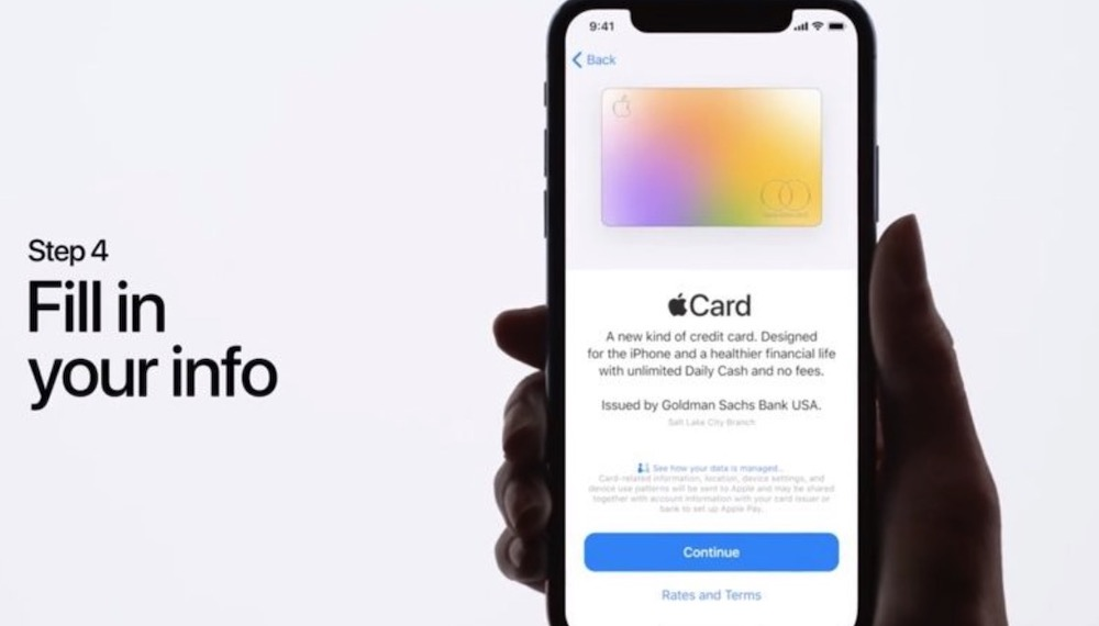 Apple Card disponible muy pronto
