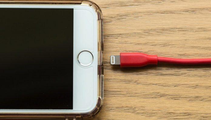 mensaje de verificación de la batería en iOS 13