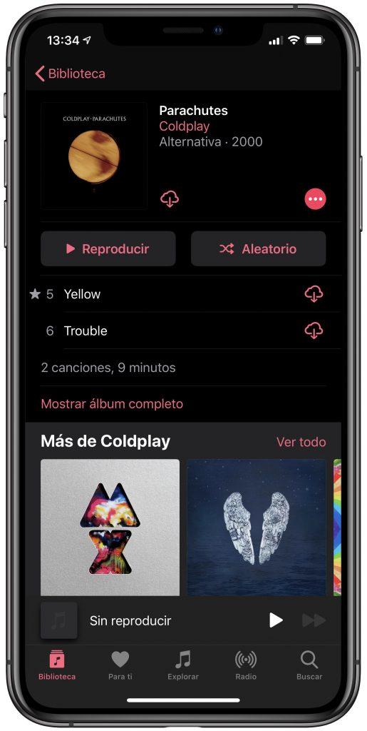 Descargar música de Apple Music