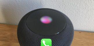 transferir llamadas del iphone al homepod