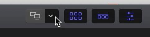 activar dos monitores final cut pro