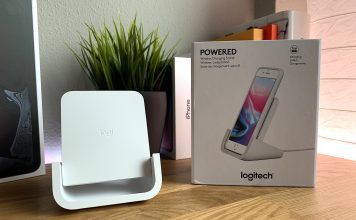 analisis soporte Qi Powered de Logitech
