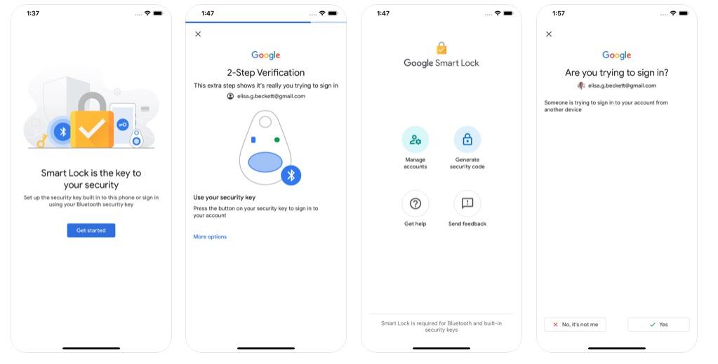 Cómo utilizar el iPhone como 2FA para los servicios de Google