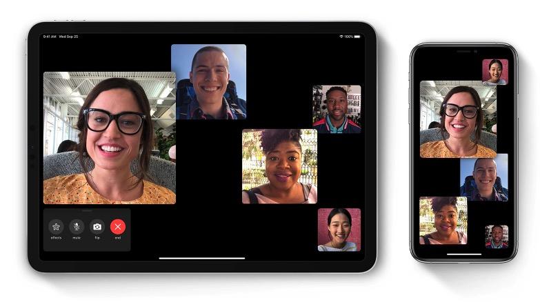 Cómo hacer videollamadas en grupo en FaceTime