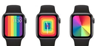 Esferas multicolor del Apple Watch por el Orgullo 2020