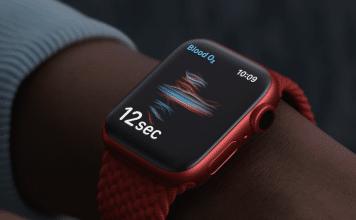 apple watch series 6 rojo