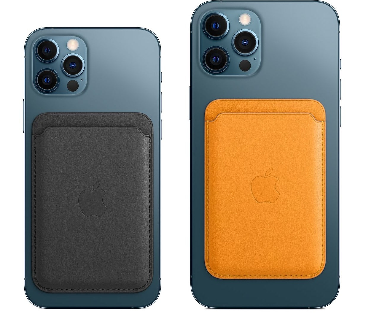 cartera de piel con MagSafe para el iPhone