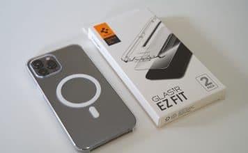 protector pantalla spigen iphone 12 pro max